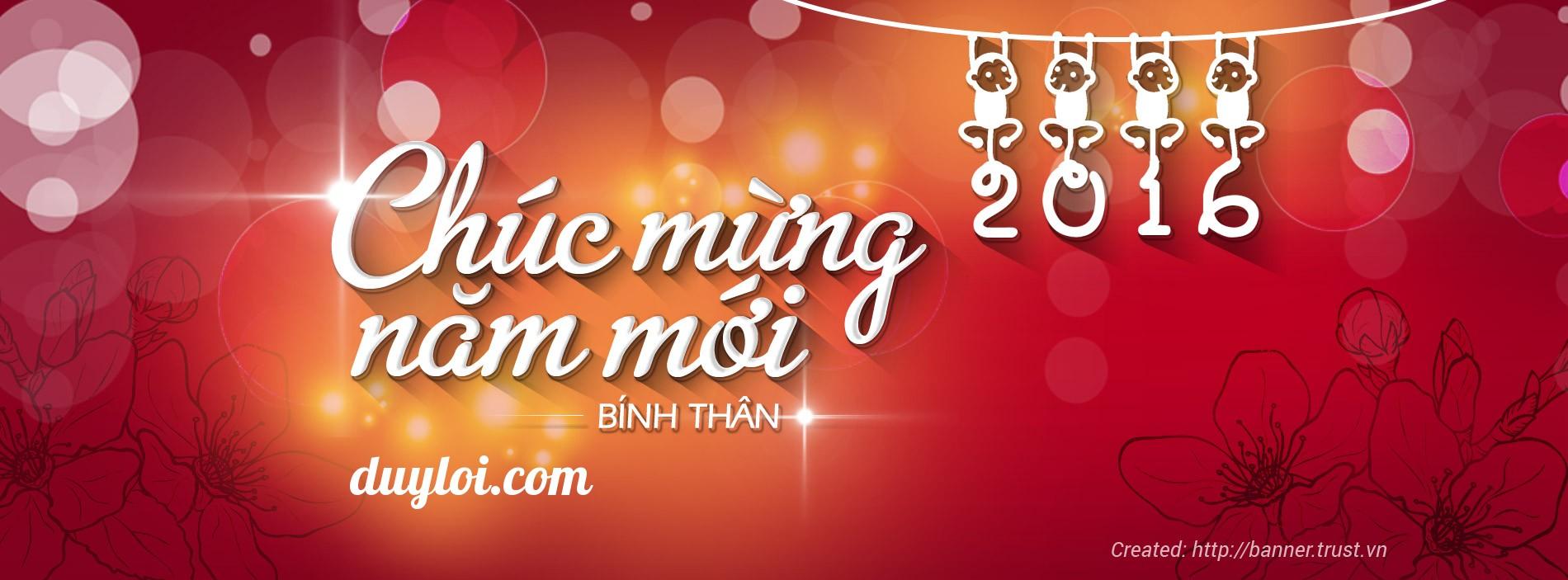 Duy Lợi chúc mừng năm mới